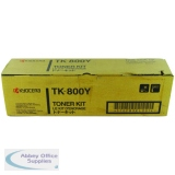 Kyocera FS-C8008N Toner Cartridge 10000 Pages Yellow TK-800Y