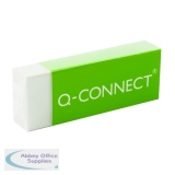 Q-Connect White PVC Eraser (20 Pack) KF00236