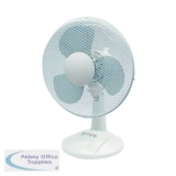 Q-Connect 300mm/12 Inch Desktop Fan KF00405
