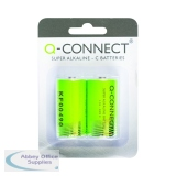 Q-Connect Size C Battery (2 Pack) KF00490