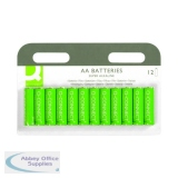 Q-Connect Battery AA Pack of 12 KF00644