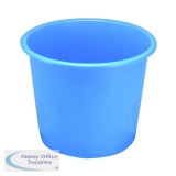Q-Connect 15 Litre Blue Waste Bin CP025KFBLU