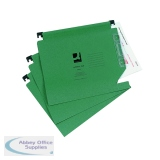 Q-Connect Green Manilla 275mm Lateral File (25 Pack) KF01184