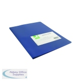 Q-Connect Polypropylene Display Book 20 Pocket Blue KF01251