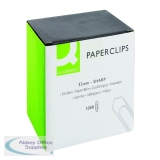 Q-Connect Paperclips No Tear 32mm (1000 Pack) KF01313