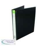 Q-Connect Presentation 25mm 4D Ring Binder A4 Black KF01328