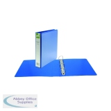 Q-Connect 40mm A4 Blue Presentation 4D-Ring Binder KF01331