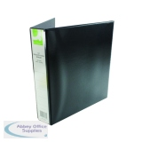 Q-Connect Presentation 4D-Ring Binder 40mm A4 Black KF01332