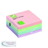 Q-Connect Quick Note Cube 76 x 76mm Pastel KF01347