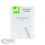 Q-Connect Project Folder A4 Blue Pack of 25 KF01454
