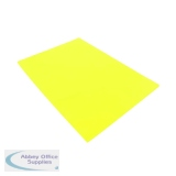 Q-Connect Cut Flush Folder A4 Yellow (100 Pack) KF01487