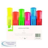 Q-Connect Assorted Highlighter Pens (6 Pack) KF01909