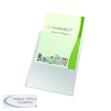 Q-Connect Card Holder Polypropylene A4 (100 Pack) KF01947
