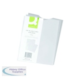 Q-Connect Card Holder Polypropylene A6 (100 Pack) KF01949
