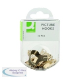 Q-Connect Picture Hooks (20 Pack) KF02031