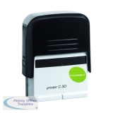 Q-Connect Voucher for Custom Self-Inking Stamp 35 x 12mm KF02110