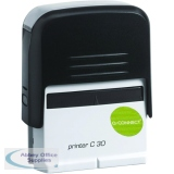 Q-Connect Voucher for Custom Self-Inking Stamp 45 x 15mm KF02111