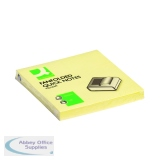 Q-Connect Fanfold Notes 75 x 75mm Yellow (12 Pack) KF02161