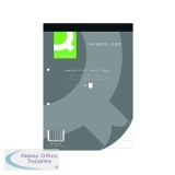 Q-Connect A4 Narrow Feint Ruled 2 Hole Refill Pads (10 Pack) KF02229