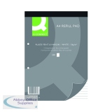 Q-Connect A4 Refill Pad 2 Hole Ruled (5 Pack) KF02234
