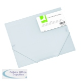 Q-Connect A4 Clear Elasticated Folder KF02315