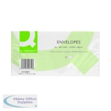 Q-Connect DL Envelope 80gsm Self Seal White (1000 Pack) KF02712