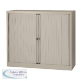 Jemini Grey Side Opening Tambour Unit 1016mm SCPST40WI-V7 KF05432