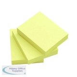 KF10501 - Q-Connect Quick Note Repositionable Pad 50x75mm Yellow