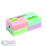 Q-Connect Quick Notes 76 x 76mm Pastel (12 Pack) KF10509