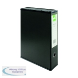 Q-Connect Black Foolscap Box File (5 Pack) KF20017