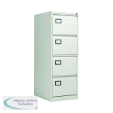 Jemini 4 Drawer Filing Cabinet Grey XK4B