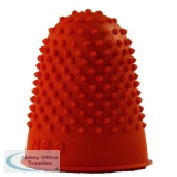 Q-Connect Orange Thimblette Size 3 (12 Pack) KF21511