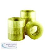 Q-Connect Polypropylene Tape 19mm x 33m (8 Pack) KF27013