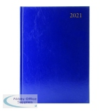 Desk Diary 2 Pages Per Day A4 Blue 2021 KF2A4BU21