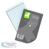 Q-Connect Shorthand Notebook Feint Ruled 203 x 127mm 300 Pages (10 Pack) 31002