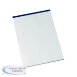 Q-Connect Narrow Ruled Board Back Memo Pad 160 Pages A4 (10 Pack) KF32006