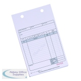 Q-Connect 2-Part Sales Receipt Form White (100 Pack) KF32108