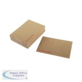 Q-Connect Board Back Envelope 318 x 267mm 115gsm Peel and Seal Manilla (125 Pack) 1K06