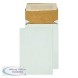 Q-Connect Padded 229 x 162 x 50mm Peel/Seal C5 Gusset Envelope (100 Pack) KF3530