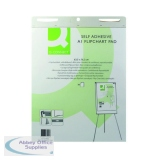 Q-Connect Self-Adhesive Flipchart Pad A1 30 Sheet (2 Pack) KF37003