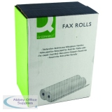 Q-Connect White Fax Roll 210mmx24mx12mm (6 Pack) KF50105