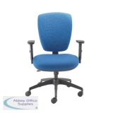 Cappela Square Back Posture Chair Blue KF71362
