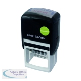 Q-Connect Voucher for Custom Self-Inking Date Stamp 43 x 28mm KF71433