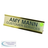 Q-Connect Voucher for Custom Door or Name Plate 250x50mm KF71442