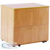Arista Beech Desk High Side Filer KF72416