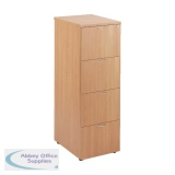 First Filing Cabinet 4 Drawer Beech KF74904