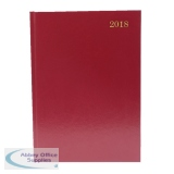Desk A4 Diary Day/Page Appointments 2018 Burgundy KFA41ABG18