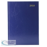 Appointments 2018 Blue A4 Day/Page Desk Diary KFA41ABU18