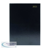 Desk Diary Day Per Page A4 Black 2021 KFA41BK21