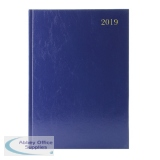Blue A4 Day/Page 2019 Desk Diary KFA41BU19